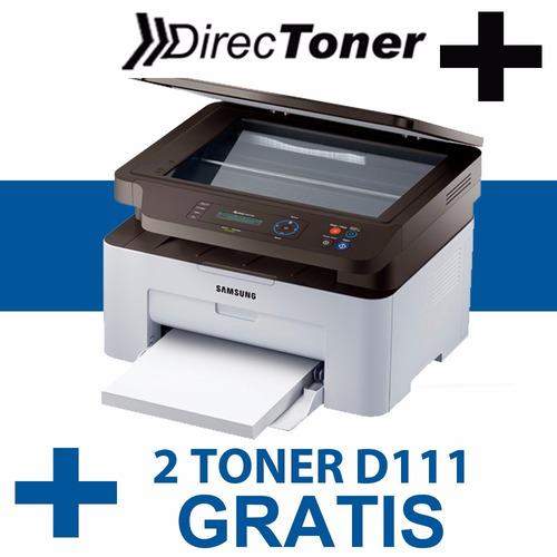 impresora samsung laser multifunción sl-m2070w escaner copia