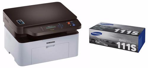 impresora samsung laser multifunción sl-m2070w + toner orig