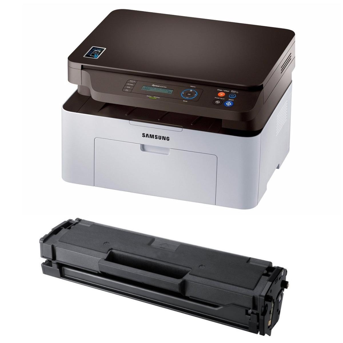 Impresora Samsung Laser Sl-m2070w + Toner Extra Mejor Precio ...