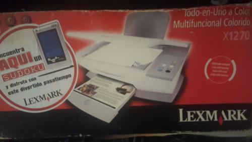 impresora, scaner lexmark x1270
