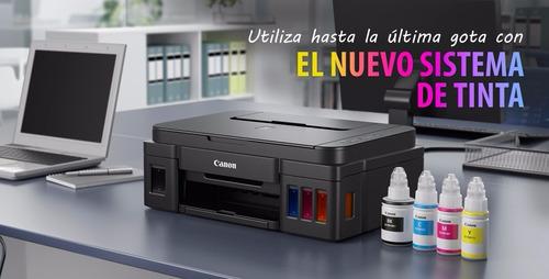 impresora sistema original canon g2100+ tinta koreana