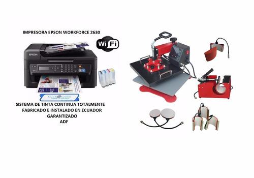 impresora sublimacion a3 + plancha sublimadora 8 en 1 oferta