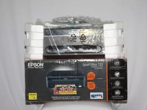 impresora t22 epson ubicada en caracas sin uso en caja 70t