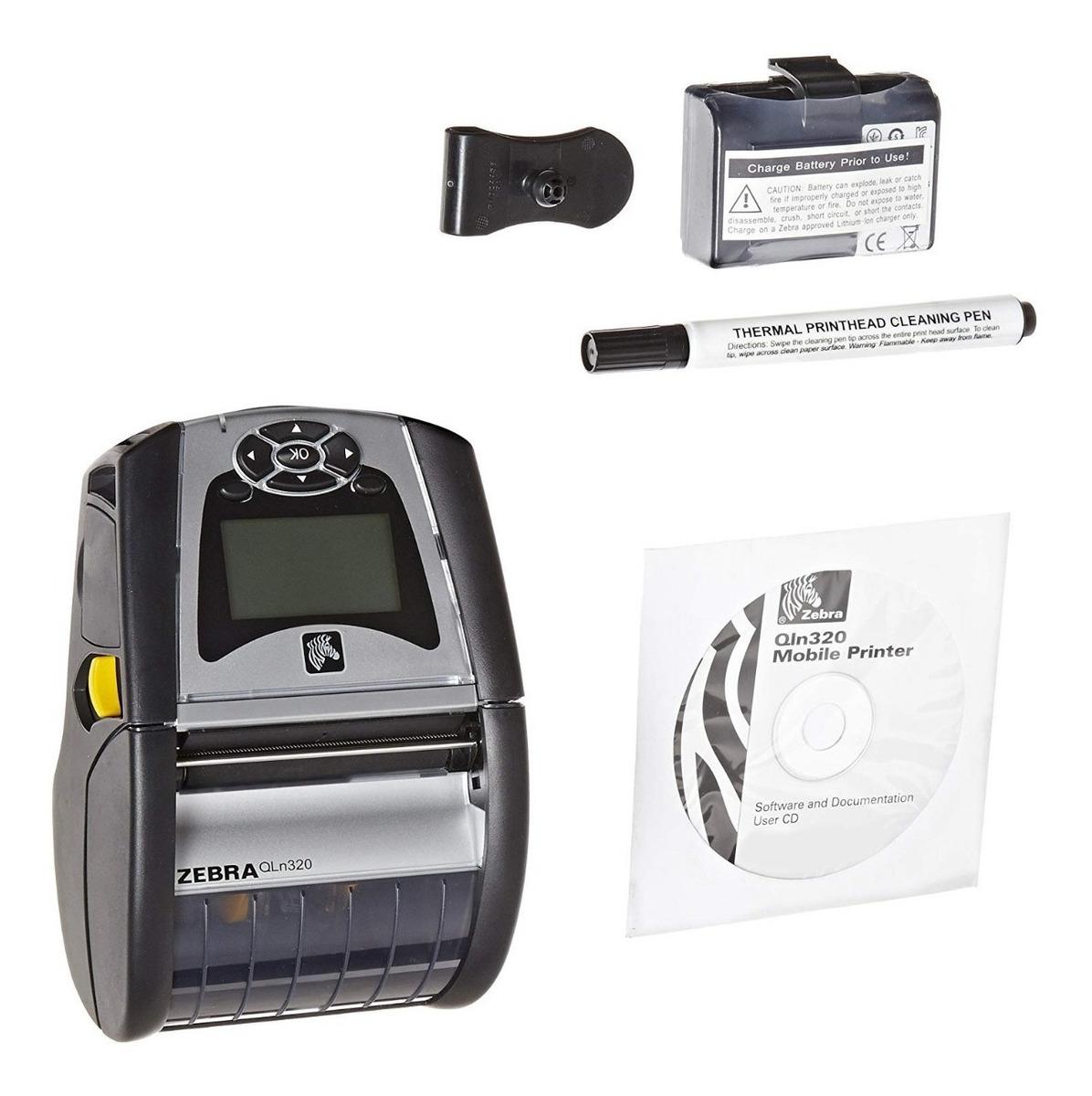 Impresora Term Port Zebra Qln320 Bluetooth 3 0 Zpl,cpcl,xml