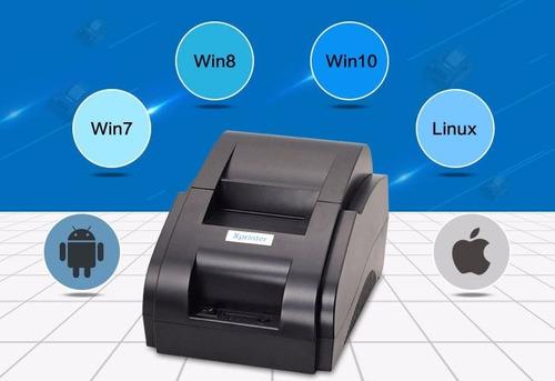 impresora térmica  58 mm punto de venta (gigasystems)