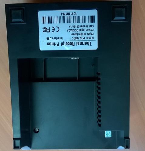 impresora térmica, 58mm, usb, pago agil, punto de venta