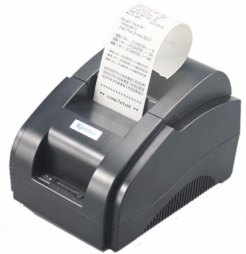 impresora termica alta velocidad 58 mm xprinter sin cartucho
