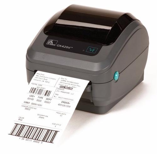 impresora termica de código de barras zebra gk420t lps nueva