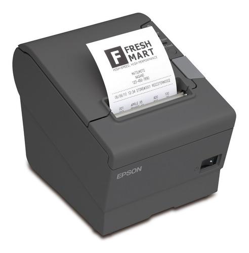 impresora termica epson tm-t88v-084 negra usb serial
