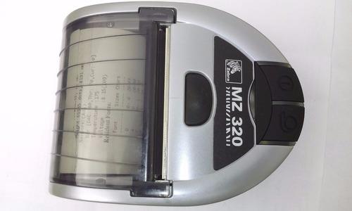 impresora térmica portátil zebra mz320 con bluetooth