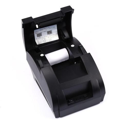 impresora térmica pos 58mm alta velocidad garantía + rollo