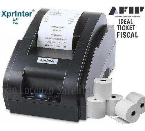 impresora termica  xprinter no aceptes imitacion para tickets o no fiscal