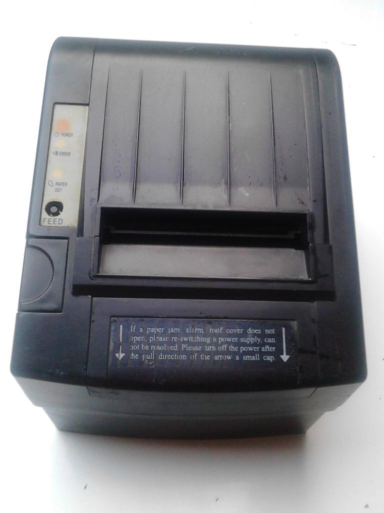 impresora tickera thermal recipet bs 60 00 en mercado libre