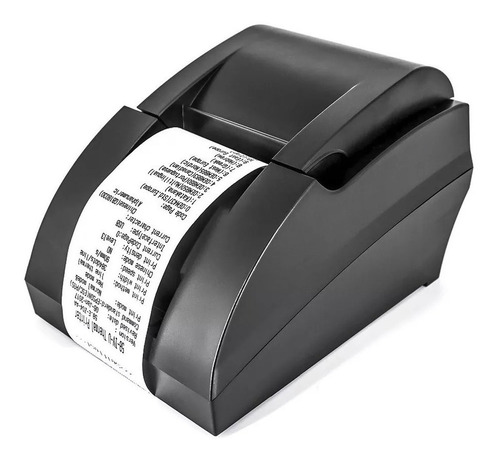 impresora ticketera termica usb ticket factura pos 58mm