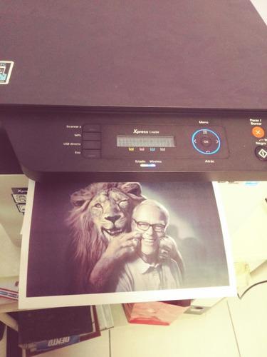 impresora toner con chip continuo. samsung c460w
