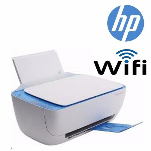 impresora wifi hp 3635 + cable usb + cart. 664 negro y color