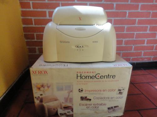 impresora xerox home centre sin cartuchos para repuestos
