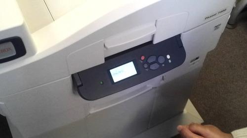 impresora xerox phaser 7400 en partes