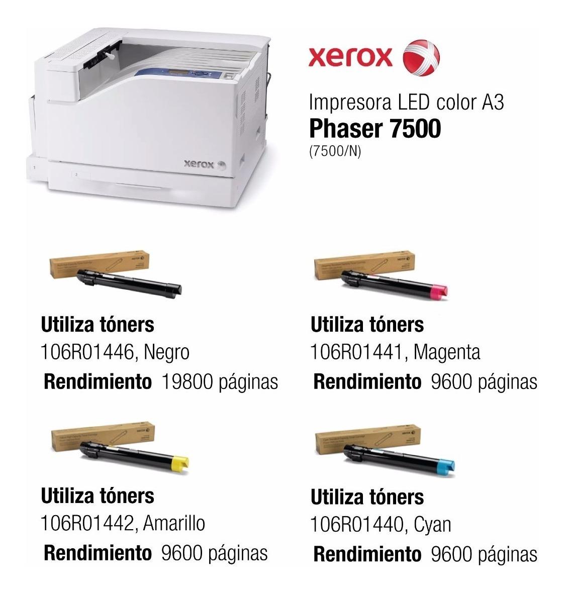 15000 p/áginas - Rodillo de transferencia para impresoras Xerox Rodillo de transferencia 15.000 p/áginas* Negro