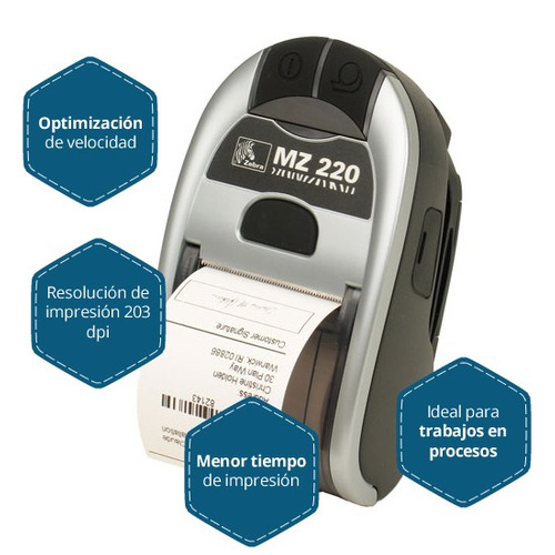 impresora zebra imz220