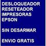 Desbloqueador Reset Impresora Epson T20 - Envio Por Internet