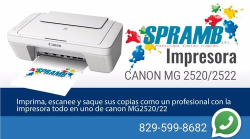 impresoras brother, canon, epson ofertón en spramb