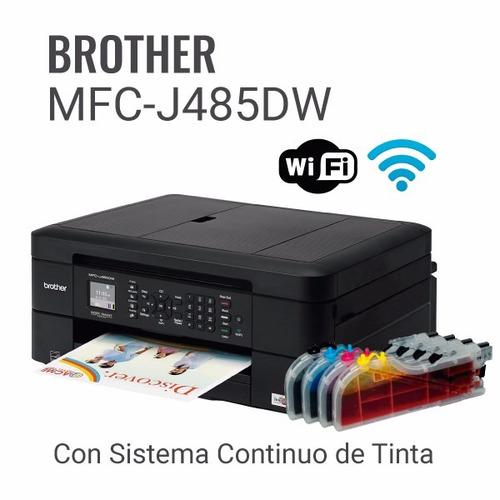impresoras canon, brother con sistema de tintas continuo