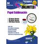 Papel Para Sublimación 100 Hojas,sublimacion,tintas,planchas