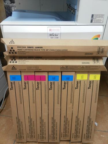impresoras copiadoras toner ricoh mpc 2800-3300-5000 nuevos
