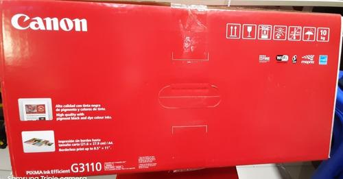 impresoras c/tanques tinta pixma g3110