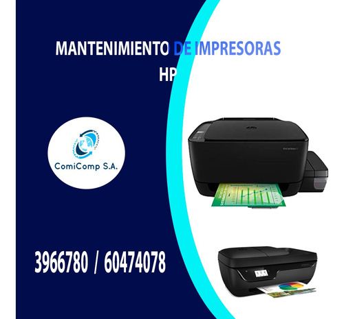 impresoras hp (mantenimiento)