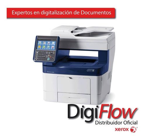 impresoras laser 3655 wc xerox gtia oficial usado alquiler