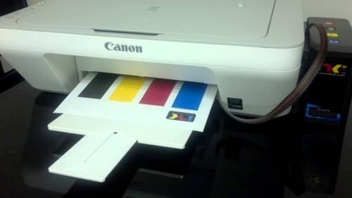 impresoras multifuncion canon mg2410 + sistema continuo full