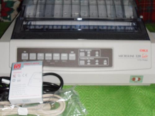 impresoras okidatas 320 turbo usb completas de primera