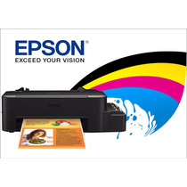 Impresora Epson L120 Con Sistema Continuo De Tinta Integrado