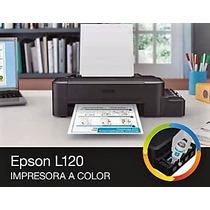 Impresora Epson L120 Sistema Tinta Continuo Original Fabrica