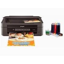 Impresora Epson Xp 201 Con Tinta D Sublimacion Usada