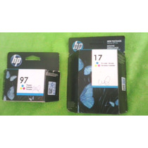 Cartucho Para Impresora Hp 17 Y Hp 97 A Color Original!!