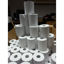 Papel Termico Rollo 80 X 65 Mm Para Impresoras Fiscal