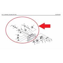 Conjunto De Impulsio Delcop A170, A180 Kyocera Fs-720,fs-820