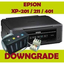 Downgrade Firmware Epson Xp201,202,211,401,410,411