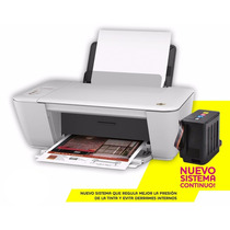 Impresora Multifuncional Hp 1515+ Sistema Continuo Instalado