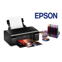 Impresora Epson T50 Con Sistema De Tinta Continuo Nueva