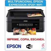 Multifuncional Epson Expression Xp201 Wifi Copia Escanea Xtc