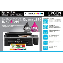 L210 Epson Impresora Multifuncional Tinta Continua Nueva