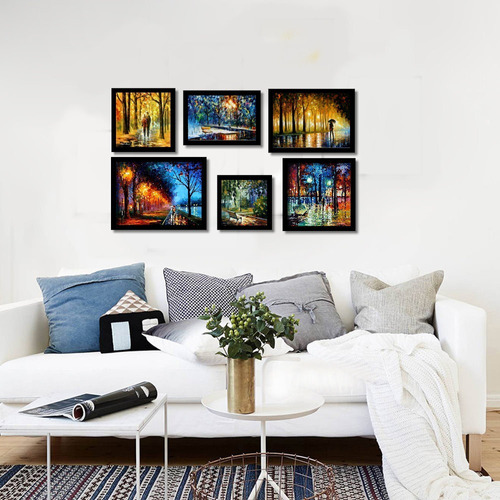 impressionismo quadros famosos kit 6