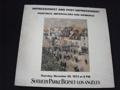 impressionist and post- impressionist - parke beret 1973