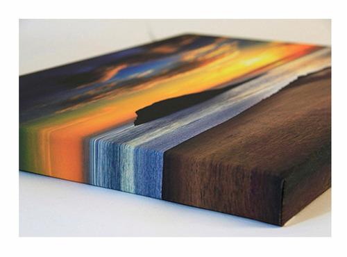 impressão digital fotográfica em foto tela canvas