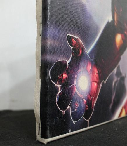 impressão em canvas 30x40 avengers