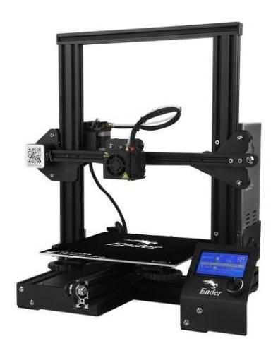 impressora 3d creality 3d® ender 3 + 1 kg de pla